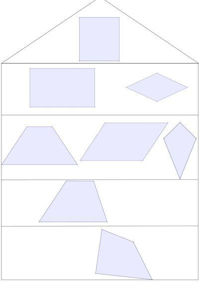 Lernpfade Das Haus Der Vierecke Und Ihre Eigenschaften Einfuhrung